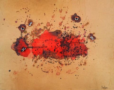 Carol Rama, Bricolage, 1967