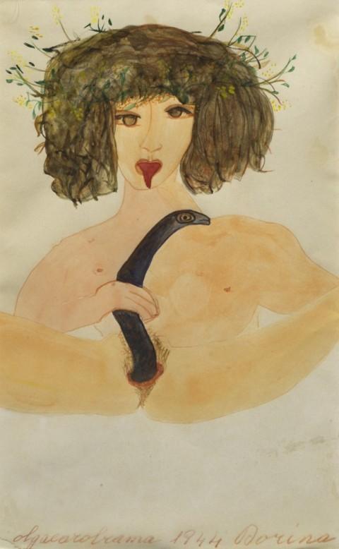Carol Rama, Dorina, 1944 – collezione privata - © Associazione Archivio Carol Rama