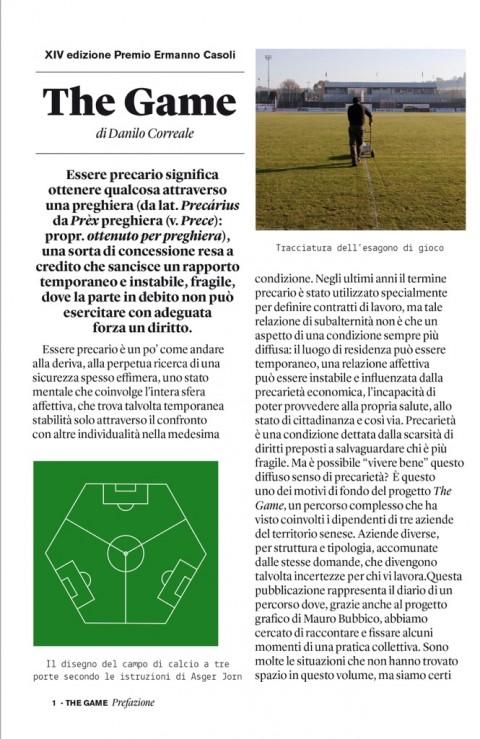 Danilo Correale. The Game – Fondazione Ermanno Casoli
