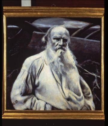 Giacomo Balla, Ritratto di Tolstoj, 1911 - Collezione Laura Biagiotti