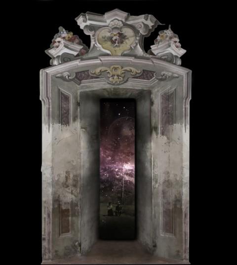 Giulia Roncucci, La Falsa Porta, 2012, videoInstallazione interattiva - photo F. Venturi