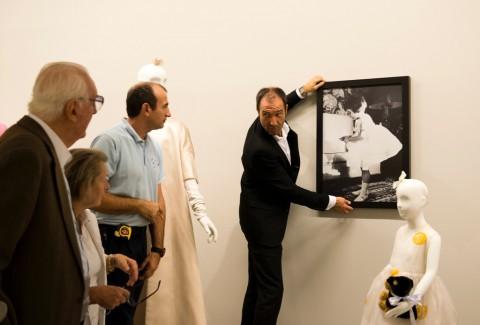 Hubert de Givenchy - allestimento della mostra presso il Museo Thyssen-Bornemisza, Madrid 2014