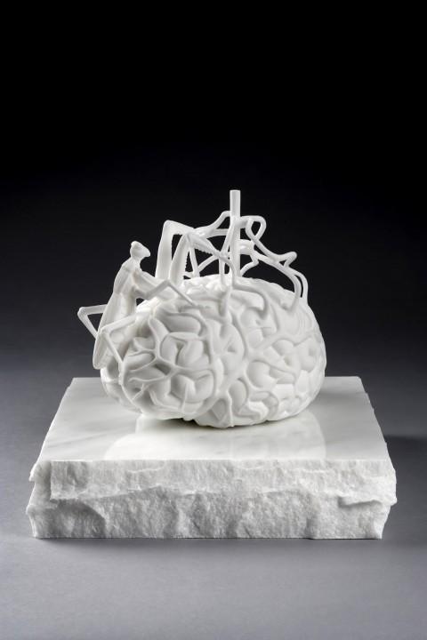 Jan Fabre, Il cervello dello scienziato, courtesy Magazzino d'Arte Moderna, Roma