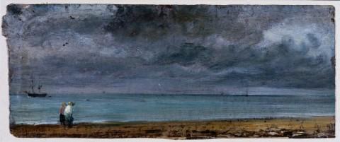 John Constable, Brighton Beach, 1824 © - Victoria and Albert Museum, Londra