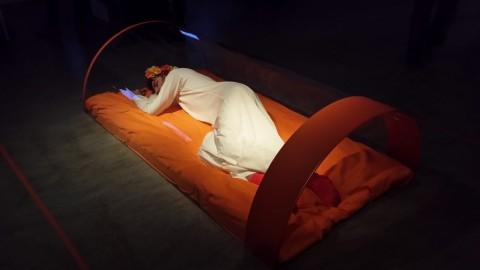 Karol Radziszewski - The Prince and Queens - Dreaming (Performance) - 21 novembre 2014 - Foto di Carmen Apateanu