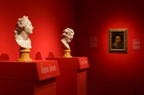 La Ánimas de Bernini - veduta della mostra presso il Museo del Prado, Madrid 2014