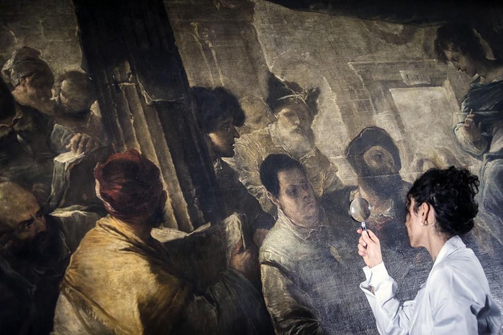Scuola Di Restauro Roma.Capolavori In Restauro Dai Musei Alle Scuole Al Via Progetto