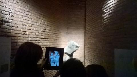 Le Chiavi di Roma - veduta della mostra presso il Museo dei Fori Imperiali, Roma 2014