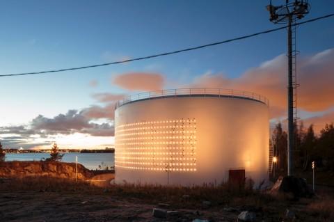 Lighting Design Collective, Silo 468, 2012 - photo Tapio Rosenius