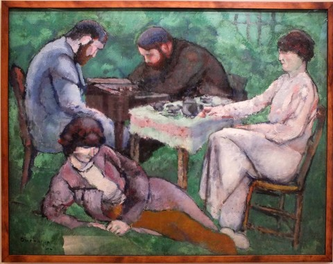 Marcel Duchamp, La Partie d'échecs, 1910 - photo © Silvia Neri