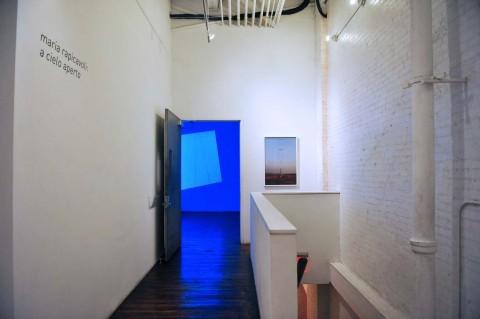Maria Domenica Rapicavoli - A Cielo Aperto - veduta della mostra presso il ISCP, New York 2014