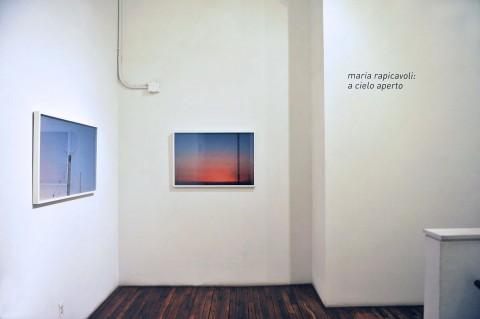 Maria Domenica Rapicavoli - A Cielo Aperto - veduta della mostra presso ISCP, New York 2014