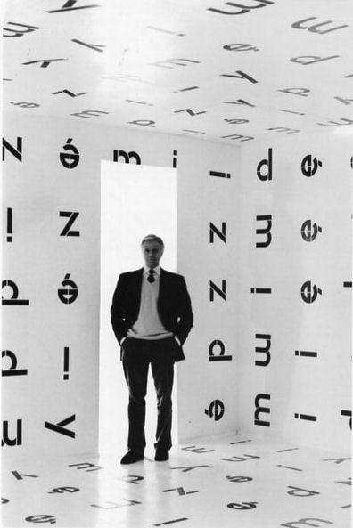 Pino Casagrande nella mostra di Stanislaw Drozdz (2005) – photo Serafino Amato