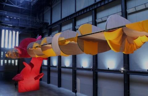 Richard Tuttle - I Don't know – veduta dell'installazione presso la Tate Modern, Londra 2014 - photo Manu Buttiglione