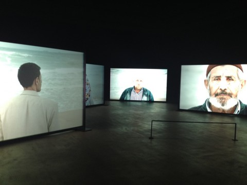Sophie Calle, Voir la mer, 2014
