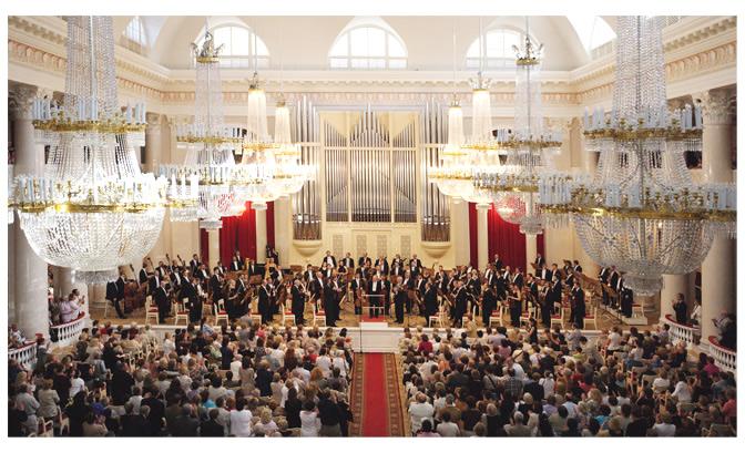 St. Petersburg Philharmonic Orchestra with Yuri Temirkanov
