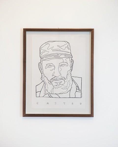 Tonel, Amistad, 2014 - matita su carta - Courtesy Galleria Bianconi, Milano