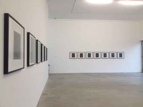 Ugo Mulas - The Sensitive Surface - veduta dell'inaugurazione presso la Galleria Lia Rumma, Milano 2014