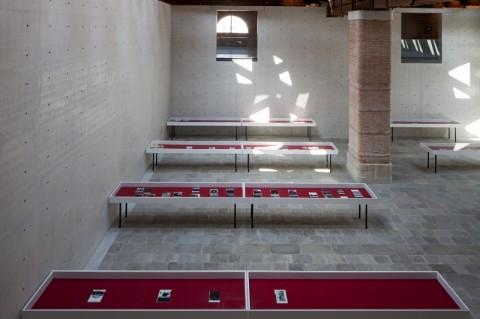 Wade Guyton, Zeichnungen fur ein kleines Zimmer (Drawings for a Small Room), 2011 - © Palazzo Grassi, ORCH orsenigo_chemollo -