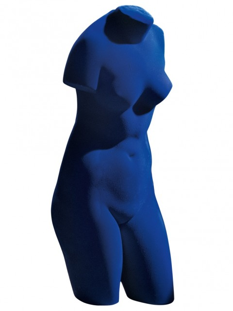 Yves Klein, Vénus bleue, 1962 - Collezione privata - © Yves Klein : ADAGP, Paris 2014
