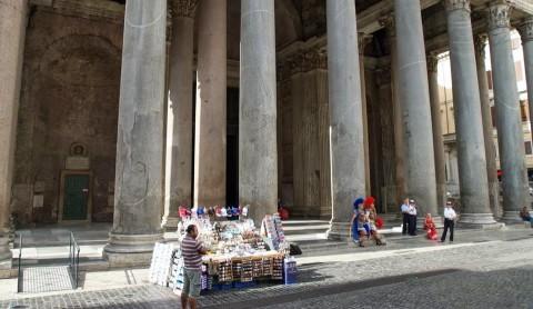 Venditori ambulanti a Roma