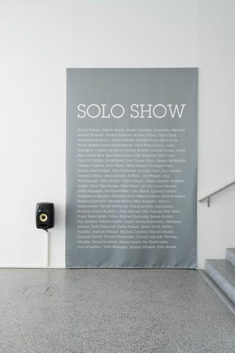 Solo Show Robbie Williams - Exhibition view, Museion 2014. Collezione Gino Viliani. Foto Luca Meneghel
