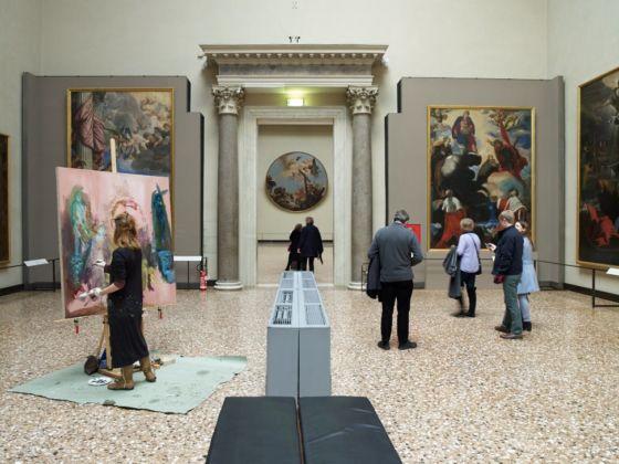 Paola Angelini, Gallerie dell'Accademia, Venezia, 2015. Foto Giovanni Cecchinato