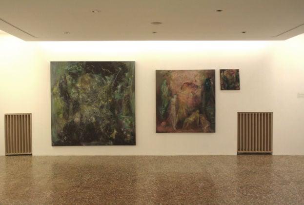 Paola Angelini, mostra Bevilacqua La Masa, fine residenza Venezia, foto Alessandro Fogo