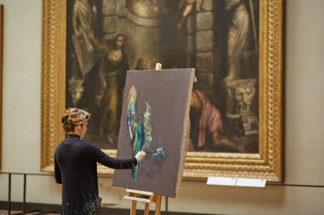 Paola Angelini, Gallerie dell'Accademia, Venezia - foto Giovanni Cecchinato
