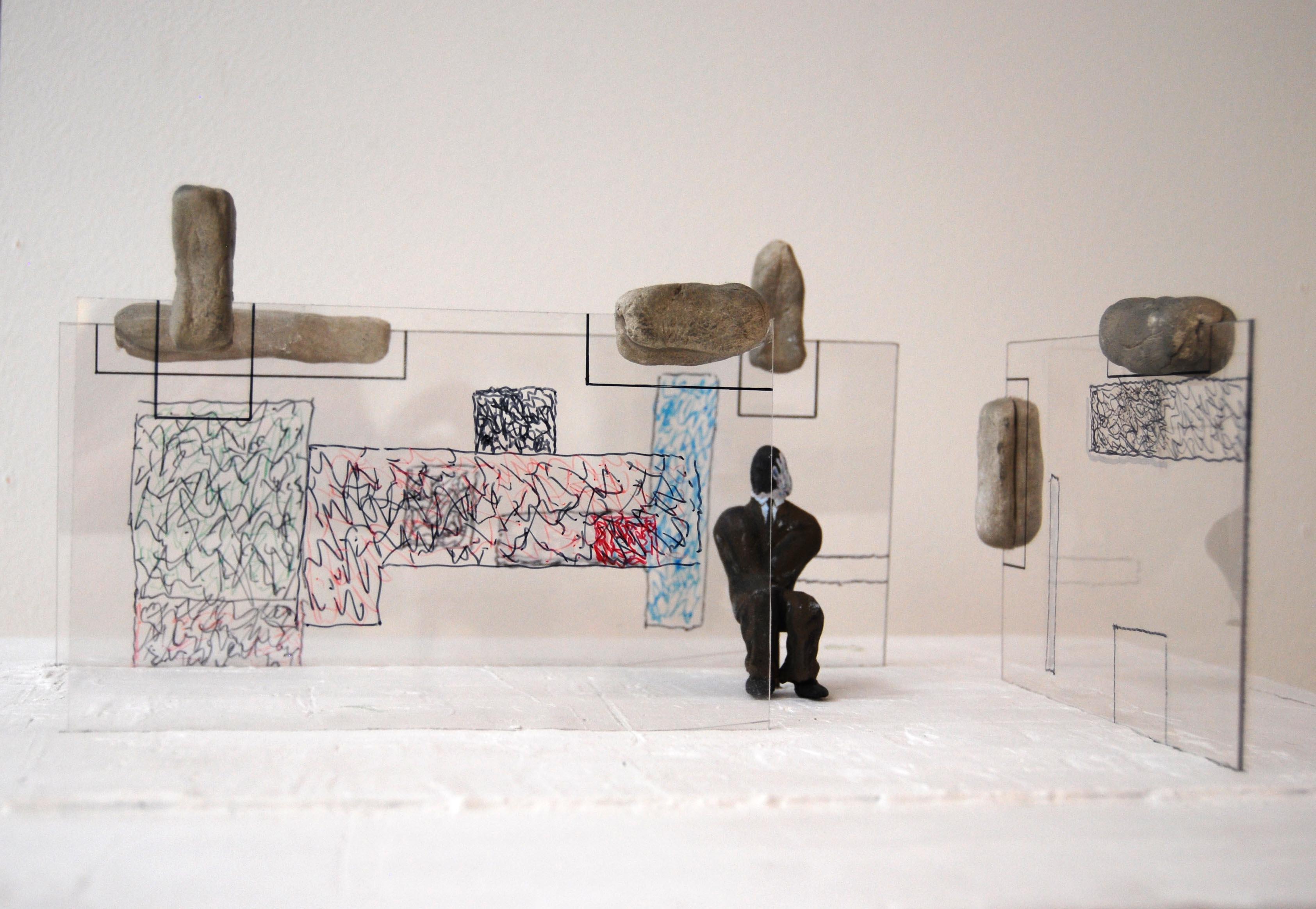 Andrea Branzi – Dolmen - Galleria Antonia Jannone, Milano 2015