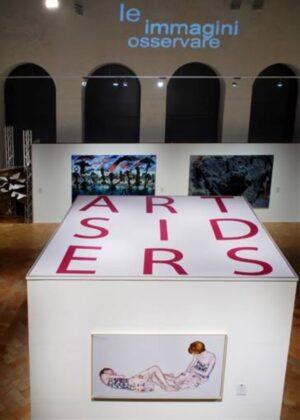 Artsiders, Perugia, 2014 - sullo sfondo, Bianco-Valente