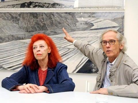 Christo e Jean-Claude, davanti al progetto per Over the river