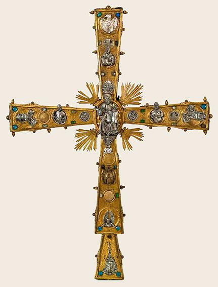 Croce gemmata, sec. XV