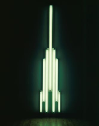 Dan Flavin, 'Monument' for V. Tatlin, 1966-69 - © 2014 Stephen Flavin / Artists Rights Society (ARS), New York - Courtesy Tate Collection: Purchased 1971