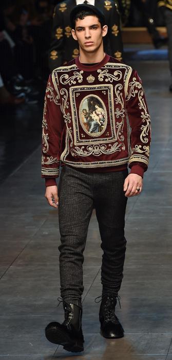 Dolce&Gabbana - collezione Uomo FW2015