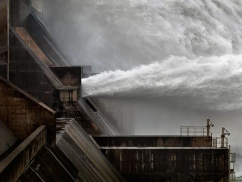 Edward Burtynsky, Xiaolangdi Dam #1 Yellow River, Henan Province, China, 2011