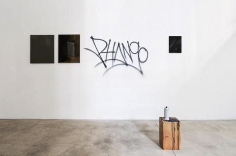 Eugenia Vanni – Barbecue – veduta della mostra presso la Galleria Riccardo Crespi, Milano 2014 - photo Marco Cappelletti
