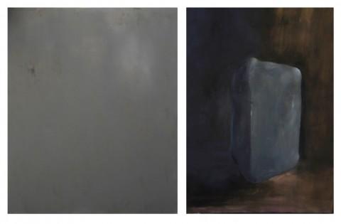 Eugenia Vanni, Ritratto di pane d'argilla; Ritratto di piano d'argilla per bassorilievo, 2014 - courtesy l'artista e Galleria Riccardo Crespi, Milano - photo Marco Cappelletti