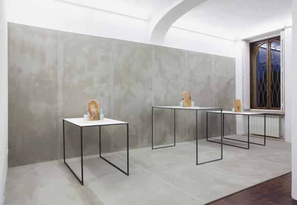 Francesco Barocco - veduta della mostra presso la Galleria Norma Mangione, Torino 2014