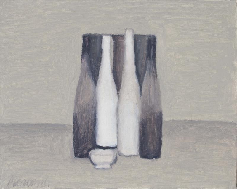 Giorgio Morandi, Natura morta, 1957, olio su tela, Collezione privata