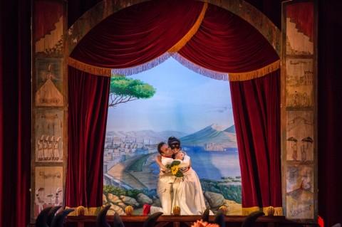 Hans Werner Henze, Gisela! - regia Emma Dante, Teatro Massimo, Palermo 2015 - photo © Rosellina Garbo