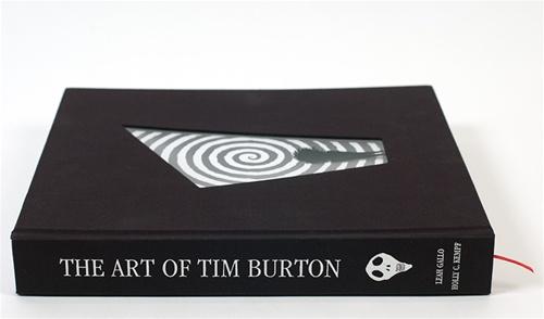 Il catalogo della mostra The Art of Tim Burton