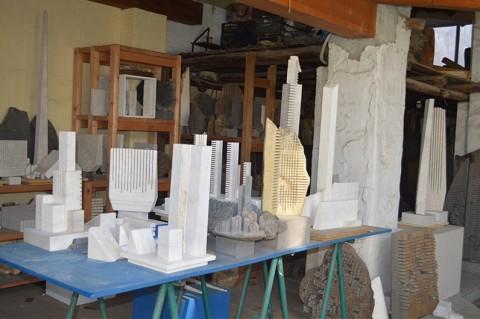 La casa museo di Pinuccio Sciola a San Sperate