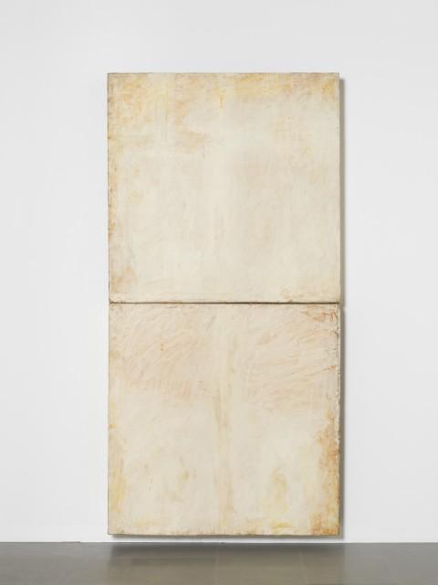 Lawrence Carroll, Void, 1985-86 - olio, cera, tela su legno, 246,3 x 119,3 x 15,2 cm - Museo Cantonale d'Arte, Lugano. Donazione Panza di Biumo
