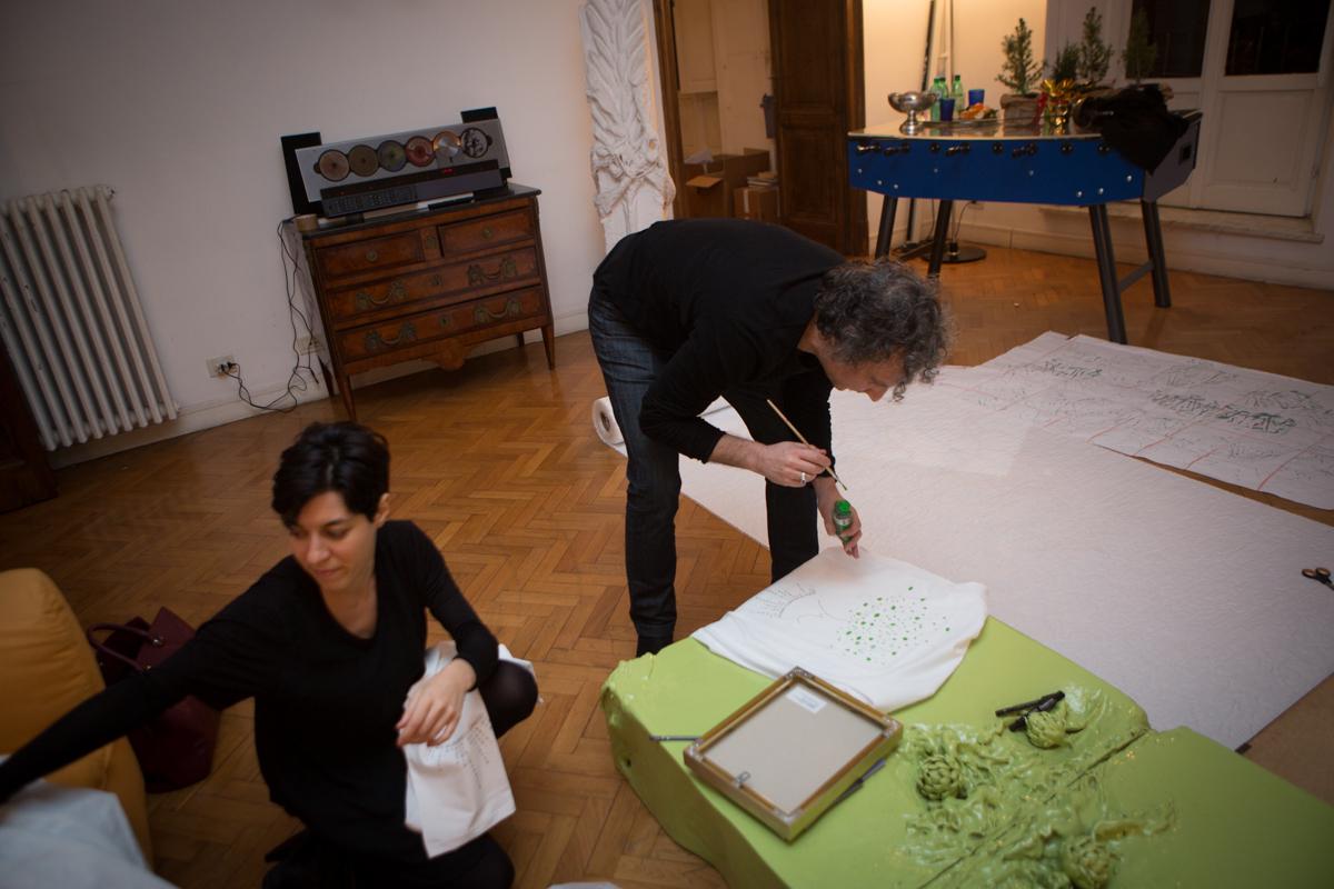 Mariagrazia Pontorno, Giuseppe Pietroniro © Giovanni De Angelis