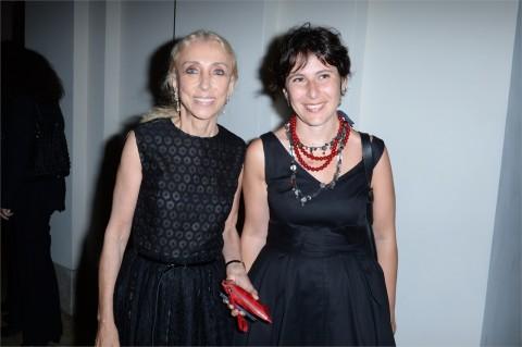 L'Assessore Marta Leonori con Franca Sozzani di Vogue Italia