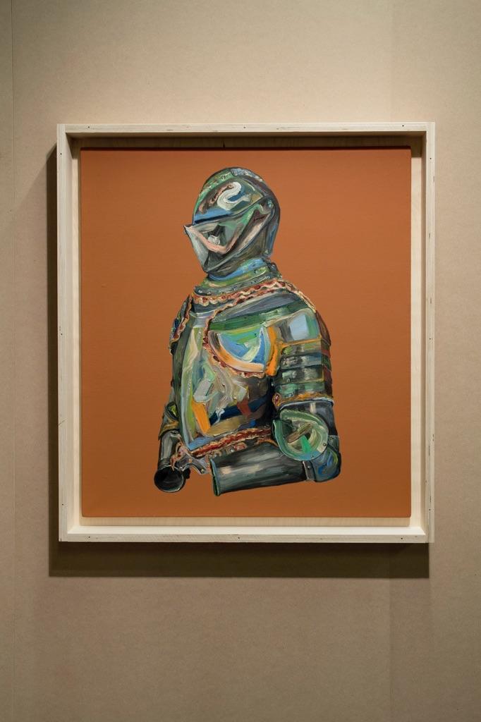 Matteo Fato - (SECRéTA) - veduta della mostra presso TRA, Treviso 2015 - mostra aperta