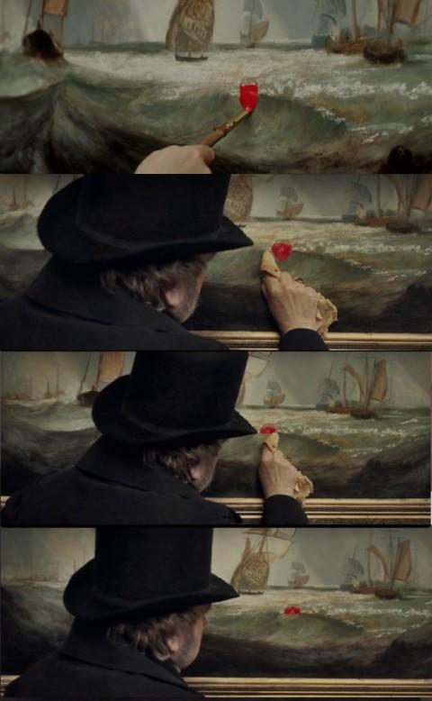 Mike Leigh, Mr. Turner (2014) - la sequenza della boa