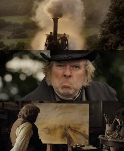 Mike Leigh, Mr. Turner (2014) - la sequenza della ferrovia