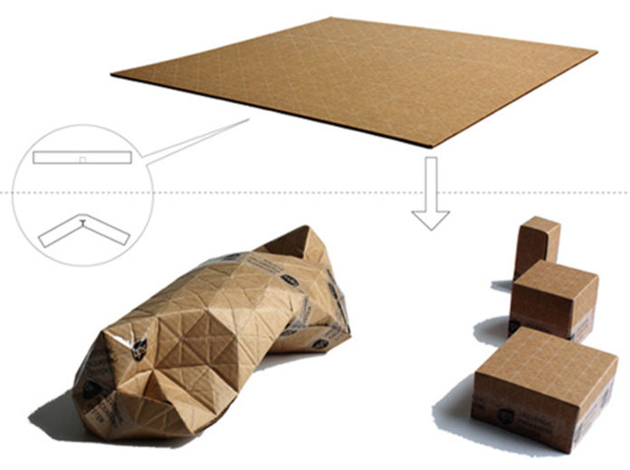Patrick Sung, UPACKS. Universal Packing System